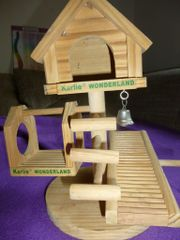 Hamsterzubehör Holz