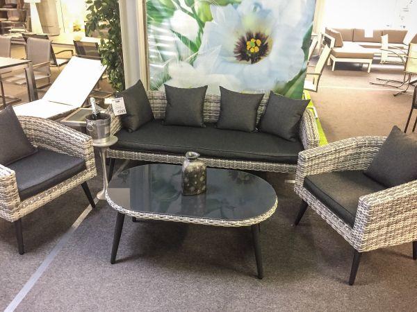 Rattan sofa matera als u form wohnlandschaft garten loungesets