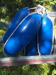 Bootsfender Fender Rammschutz blau