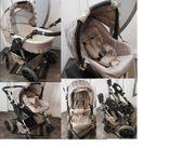 Kinderwagen-Set mit Wanne Schale u