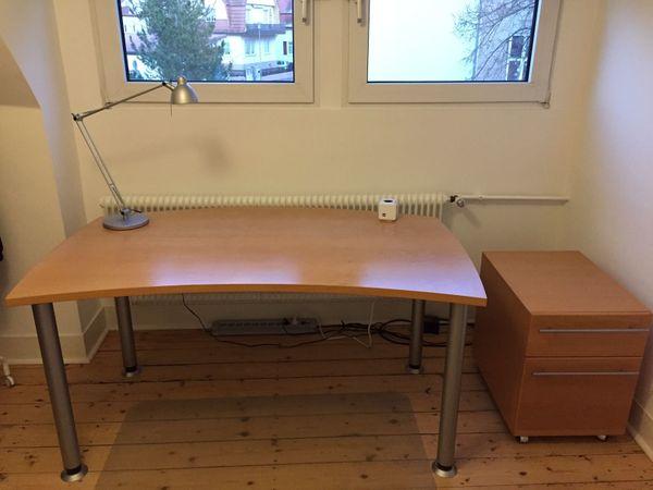Schreibtisch Und Rollcontainer Von Hulsta Now In Aalen Buromobel
