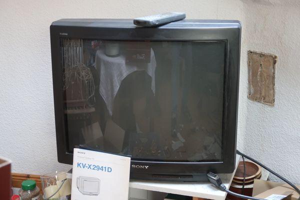 Sony 72 cm fernsehgerät. funktioniert an selbstabholer zu verschenken