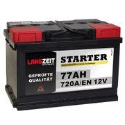 Autobatterie 77Ah 12V *