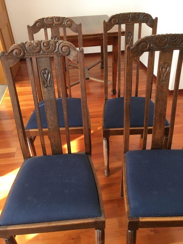 Antike Englische Esszimmer Stuhle In Munchen Stilmobel