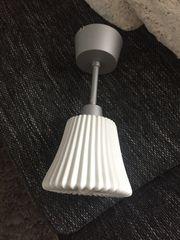 Ikea Keramiklampe