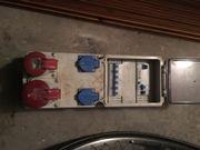 Stromverteiler/Baustromverteiler 16A,