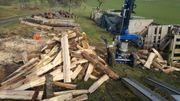 Mobieler Holzspalter