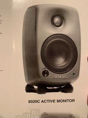 2x Genelec 8020C