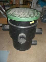 Regenwasser Filter Erdeinbaufilter Zisternenfilter