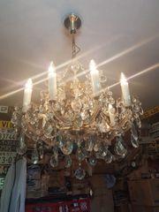 Antiker Kronleuchter Kristall Lüster Maria