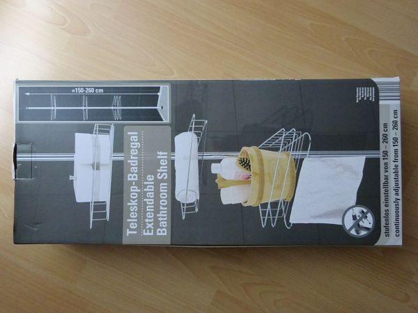 Teleskop badregal in dresden bad einrichtung und geräte kaufen