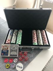 Pokerkoffer inkl Zubehör