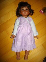 Puppe, schwarz, ca.