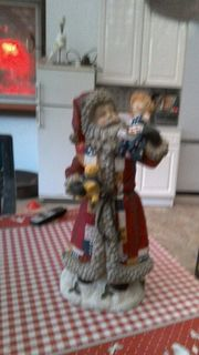 Weihnachtsmann abzugeben