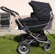 Schicker Kinderwagen von Emmaljunga Modell