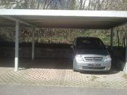 Stellplatz überdacht Carport für PKW