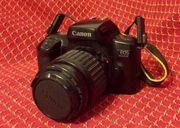 Spiegelreflexkamera Canon EOS 1000F mit