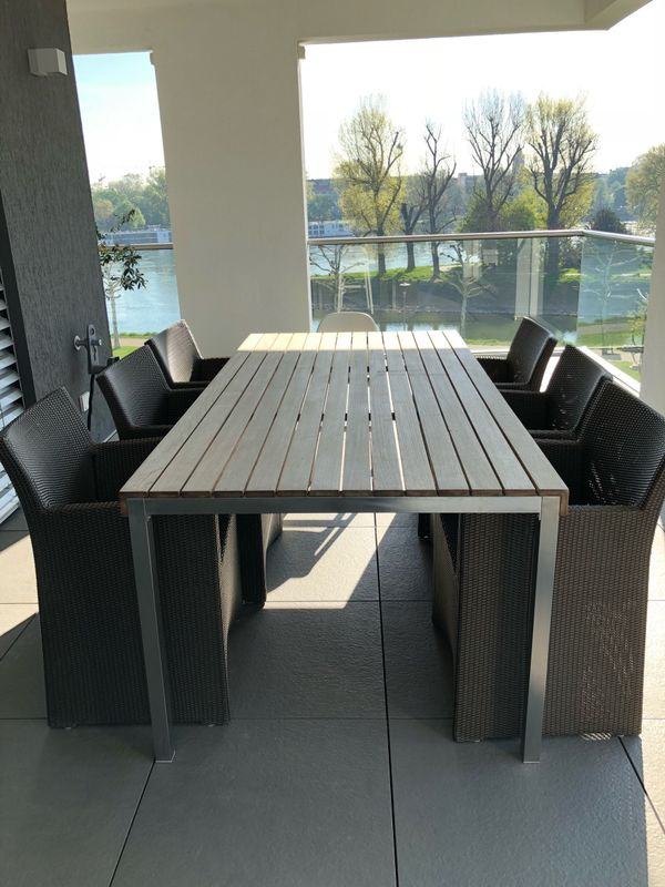Balkonstühle terrassen balkon stühle lounge sessel viro mit sitzkissen in