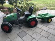 Fendt Pedal-Traktor mit Anhänger für