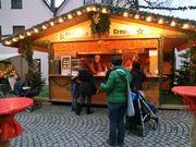 Weihnachtsmarkthütte mit Flair -