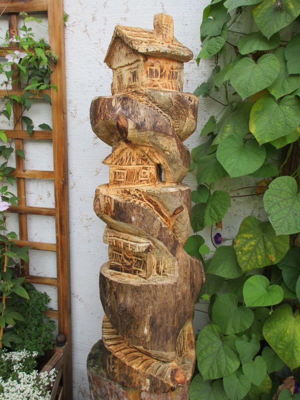 feenhaus motors gekunst skulptur vogelhaus geschenk deko. Black Bedroom Furniture Sets. Home Design Ideas