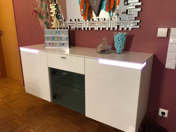 stylisches Sideboard mit » Wohnzimmerschränke, Anbauwände