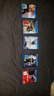 5 PS4 SPIELE