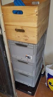 6 x Aufbewahrungsboxen 2 St