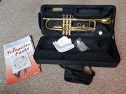 Trompete Schultrompete mit Trompetenfuchs Buch