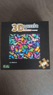 3D PUZZLE Schmetterlinge