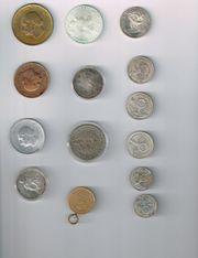 versch.Münzen