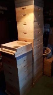 Verkaufe 3 Bienenbeutenset Einheitsmaß Flachzarge