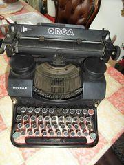 Schreibmaschine Altertum ORGA Modell 9