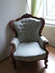 Antike Couch Garnitur Rokoko