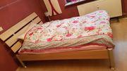 Bett von BoConcept Ahorn 140