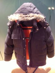 Coole wattierte Winterjacke