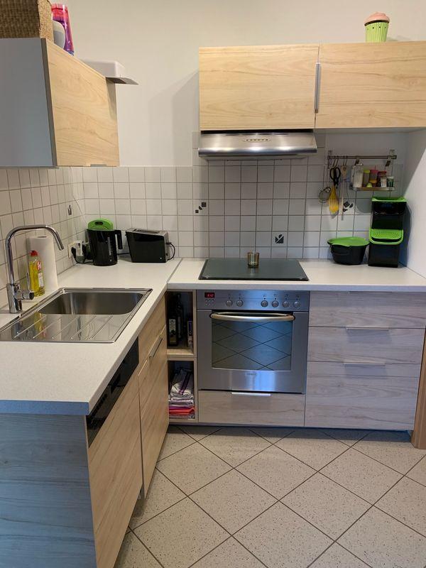 Ikea Kuche Kuchenzeile 1 5 Jahre Inkl E Gerate In