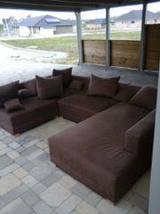 Gebrauchtes Braunes Sofa