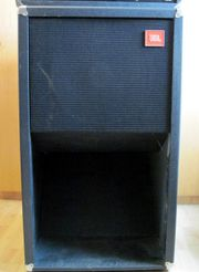 JBL Bass Exponentialbox Horn Vintage