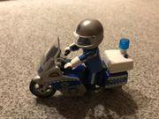 Playmobil Motorradpolizist