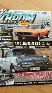 5 Autozeitschriften TOP Preis