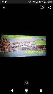 Flugreise für 2Personen Venedig