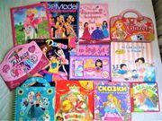 Großes Bücher Set für Mädchen