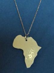Kette mit Afrika