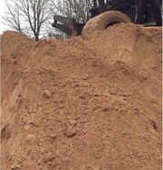 Erdaushub Aushub Sand
