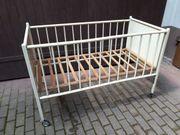 Kinderbett Bett fahrbar