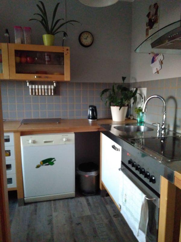 hochstehende küchenzeile mit elektrogeräten gebraucht in Leipzig ...