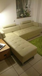 Modernes Sofa, Kunstleder,