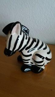Sparkässele Zebra Deko