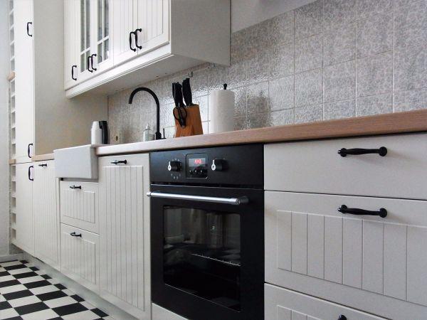 Ikea Küchenzeile ikea faktum stat küche küchenzeile mit einbaugeräten einbauküche